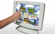 Monitor touchscreen